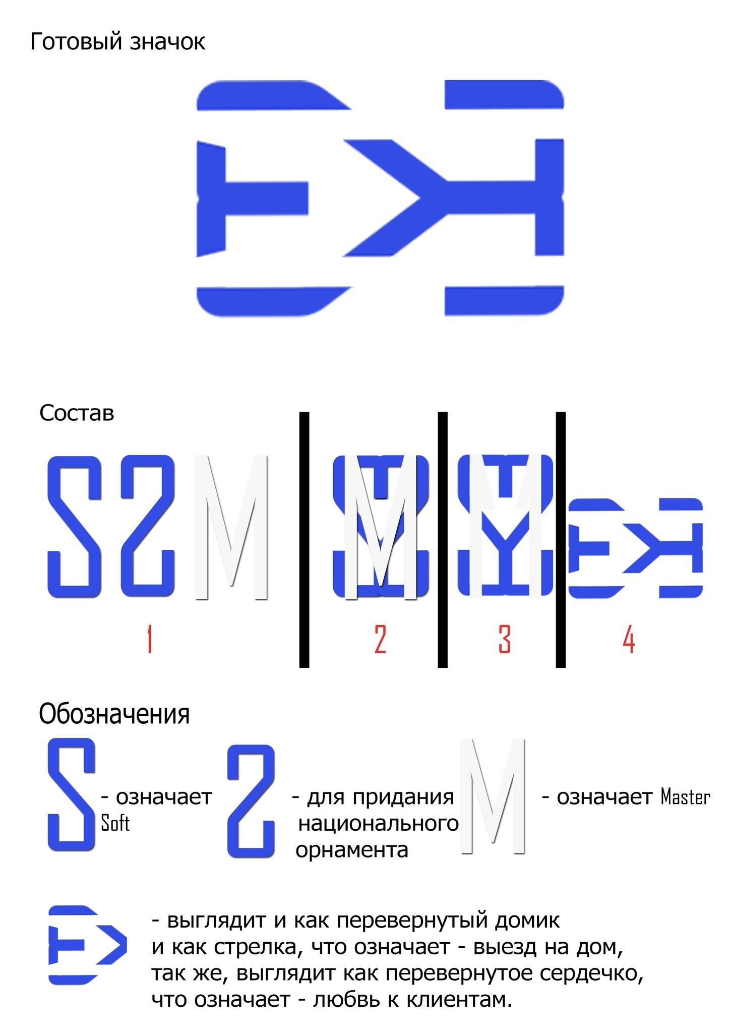 Логотип компании SOFTMASTER95
